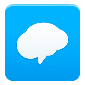 Remind icon: blue square with white speech bubble